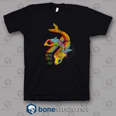 Radiohead Weird Fishes Band T Shirt - Adult Unisex Size Tag a friend who would love this! Quote Tshirts, Funny T Shirt Sayings, Funny Tshirts, Band Tees, Fashion Addict, Graphic Tees, Unisex, Mens Tops, Musica
