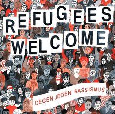 """http://polyprisma.de/wp-content/uploads/2016/03/Refugees_Welcome_Gegen_jeden_Rassismus.jpg Refugees Welcome - Gegen jeden Rassismus http://polyprisma.de/2016/refugees-welcome-gegen-jeden-rassismus/ Rassismus ist keine Antwort Das Thema Flüchtlinge beherrscht weiterhin die alltägliche Debatte. Die """"Flüchtlingskrise"""" ist allgegenwärtig, in den Medien, an den Stammtischen, auf der Straße. Ständig und überall dieselben Themen: Flüchtlinge werden angegriffen"""