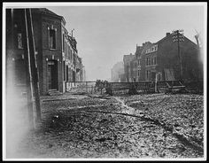 First Canadian patrol entering Valenciennes from the west. September 1918.