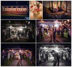Sparkler Exit | Portland wedding photography | Langdon Farms Wedding Photos | Portland Wedding Photographers | TAustin Photography | www.TAustinPhotography.com