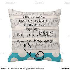 Shop Retired Medical Nap Pillow created by TheHealersCorner. Nurse Retirement Gifts, Nurse Gifts, Psych Nurse, Icu Nursing, Custom Pillows, The Neighbourhood, Medical, Nurse Stuff, Throw Pillows