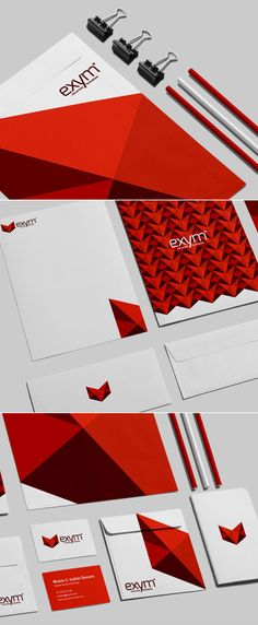 Creative examples of branding stationary - 14 #branding #corporateidentity #stationerydesign #logodesign