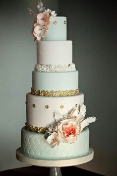 Cake Vintage style - retro cake for wedding and other parties.