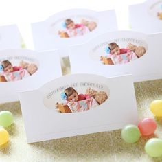 add place cards to your party table