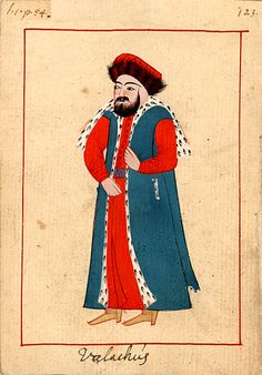 The 'Rålamb Costume Book' is a small volume by an undidentified Ottoman artist, containing 121 miniatures in Indian ink with gouache and some gilding, displaying Turkish officials, occu… Muslim Culture, Modern History, Ottoman Empire, Fashion Books, Military History, British Museum, Alter, Medieval, Folk