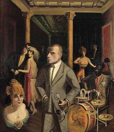 Otto Dix (1891-1969). Sort of a paranoid mechanoid feel.