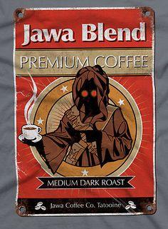 """Jawa Coffee"" T-Shirts & Hoodies by rubyred | RedBubble"