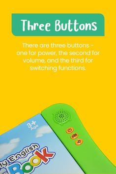 Fun Interactive Montessori Education Sound Book
