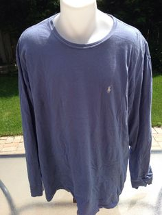 Vintage Blue XL Polo Long Sleeve by Polo Ralph Lauren by MajorDivision on Etsy https://www.etsy.com/listing/237184045/vintage-blue-xl-polo-long-sleeve-by-polo