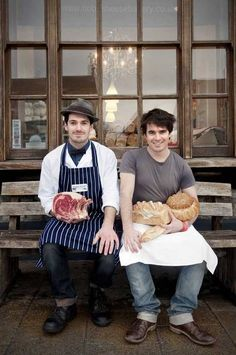 Tom & Henry Herbert: 'I thought you had to chop up mint with a knife and fork' - Features - Food & Drink - The Independent