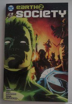 Earth 2: Society 4: Wiedergeburt. Paperback (Softcover), Panini Comics, 2016-2017, scheint ungelesen hat am Cover aber geringe L (...) Comics, Cover, Comic Books, Heroes, Birth, Comic Strips, Comic Book, Cartoons, Cartoons