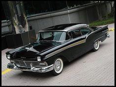 1957 Ford Fairlane 500  E-Code 312 CI, 3-Speed  #Mecum #Dallas