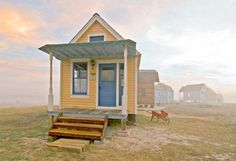 Tiny Texas Houses builds gorgeous little jewel box homes using vintage architectural salvage.
