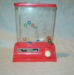 Waterfuls ring toss is what we played in the 70's before we had mind-blowing video games like Pong!