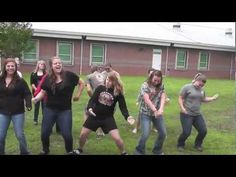Wobble - Family Force 5. This school did such a good job! Hilarious!