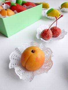 Algerian Almond Paste Fruits