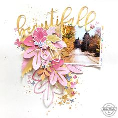 Exclusive Layout for Scrapbook Expo blog Uses Oh My Heart by Paige Taylor Evans and Pink Paislee