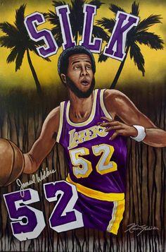 Basketball History, Pro Basketball, Basketball Legends, I Love La, Los Angeles Kings, Sports Art, Los Angeles Dodgers, All Star, Nba