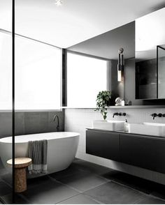 Eye-Opening Unique Ideas: Minimalist Home Dark Modern Bathrooms minimalist interior bedroom closet ideas.Bohemian Minimalist Home Inspiration minimalist kitchen window dining tables.Bohemian Minimalist Home Inspiration. Minimalist Bathroom Design, Minimalist Kitchen, Minimalist Interior, Bathroom Interior Design, Minimalist Decor, Minimalist Design, Minimalist Bedroom, Modern Minimalist, Minimalist Living