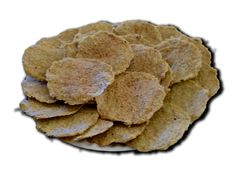 """Flax crisps 6.5 minutes in my microwave, seasoned with minced garlic and herb blend. Bland but a good """"carrier"""" for dips."""