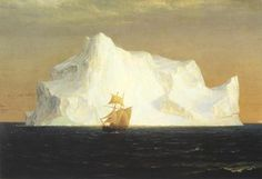 Iceberg by Fredric Edwin Church