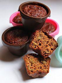 Pasja gotowania: Dietetyczne muffiny z ciecierzycy z oliwkami- bez mąki