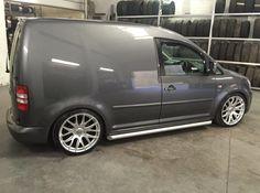 . Volkswagen Caddy, Vw T5, Caddy Van, Vanz, Luxury Suv, Custom Vans, Kit Cars, Dream Garage, Slammed