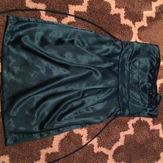 Dress Great for any occasion ! Size 11 , emerald green mini dress.. Worn once Dresses Mini
