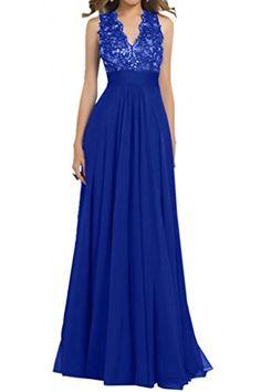 77b2b3025c9b Toscana sposa sexy v-scollatura abiti da sera Chiffon lungo damigelle. Abiti  Da Ballo Scolastico