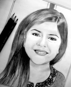 Indian beauty's sketch