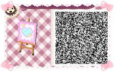 Animal Crossing: New Leaf & HHD QR Code Paths #3 Star crossed Pastel  waterway