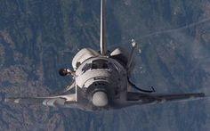 Transbordador espacial de la NASA.