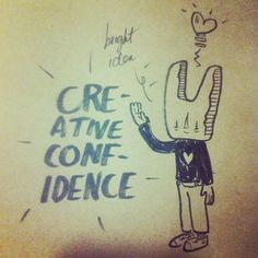 bright idea @kelleybros! #creativeconfidence Confidence, Management, Bright, Marketing, Digital, Creative, Illustration, Instagram, Illustrations