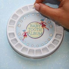 Baby tooth book