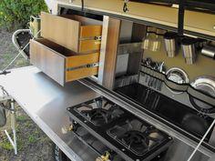 Camp kitchen [Mission Camper] #4WD