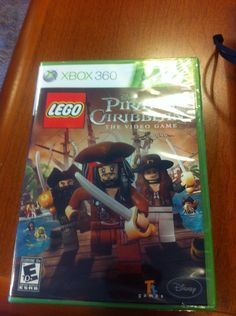 LEGO Pirates of the Caribbean: The Video Game (Microsoft Xbox 360, 2011)