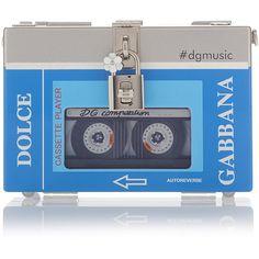 Dolce & Gabbana     Cassette Player Bag