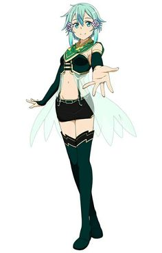 Shinon with wings - Sword Art Online ~ DarksideAnime Sinon Ggo, Kirito, Loli Kawaii, Kawaii Girl, Shino Sao, Anime Elf, Sword Art Online Wallpaper, Accel World, Anime Crossover