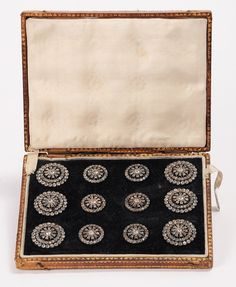 French Royal Paste Buttons