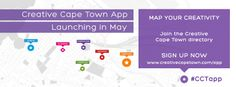 Creative Cape Town communicates, supports and facilitates the development of the creative and knowledge economy in the Central City of Cape Town. Directory Signs, App Map, Central City, Cape Town, Banner, Knowledge, Product Launch, Creative, Banner Stands