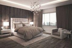 ideen-schlafzimmer-gestaltung-grau-weiss-wandgestaltung-fotomotive ...