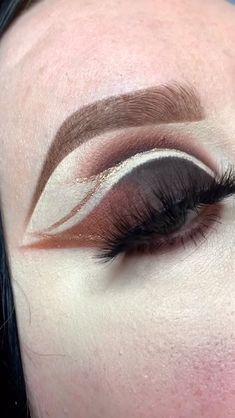 Realistic Makeup On The Arm Eyeshadow Shading With Eyeliner And