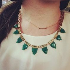 On the Mark Necklace | Stella & Dot - Today is the LAST day to shop my trunk show and earn a chance to win a FREE pair of earrings!  Shop this link: http://www.stelladot.com/ts/ok836