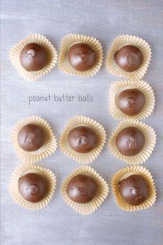 Peanut Butter Balls | Kumquat