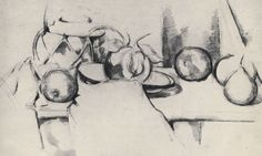 Paul Cezanne    -Still-life-with-Gingerpot-and-Fruit.
