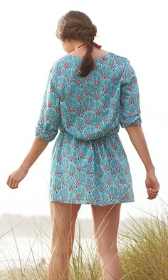 Palm Cover Up – Teal