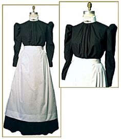 this victorian maids outfit is similar to the kendo outfit