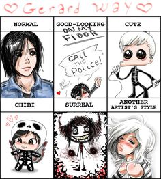 Gerard Way Style Meme. by Eckradarsi.deviantart.com on @deviantART