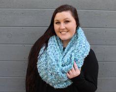 THE ALASKAN •• oversized chunky infinity scarf, large chunky scarf, large chunky infinity scarf