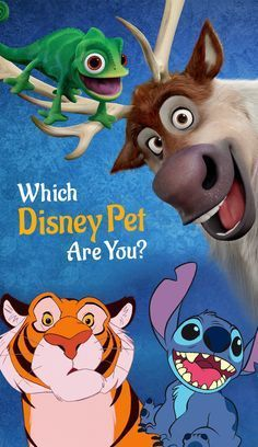 Discover your disney pet persona...I got the Monkey!!!